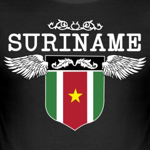Suriname Wings - Men's Slim Fit T-Shirt