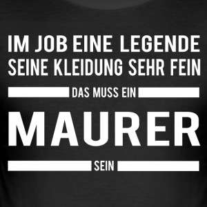 Maurer - Männer Slim Fit T-Shirt