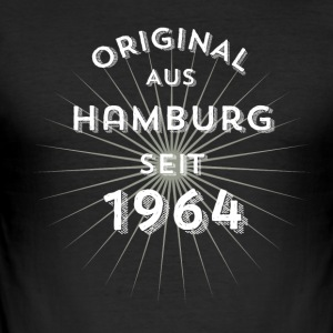 Original from Hamburg since 1964 - Men's Slim Fit T-Shirt