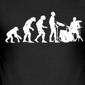 evolution drummer - slim fit T-shirt