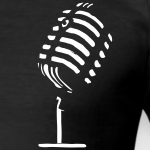 Logo_Mic - Herre Slim Fit T-Shirt