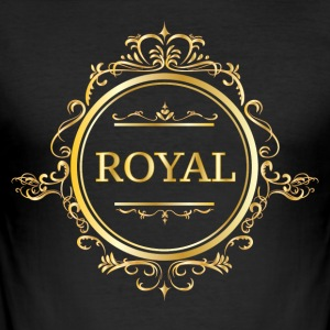 Just Be Royal. - Männer Slim Fit T-Shirt