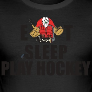 Hockey de Eat Sleep Play Hockey - Camiseta ajustada hombre