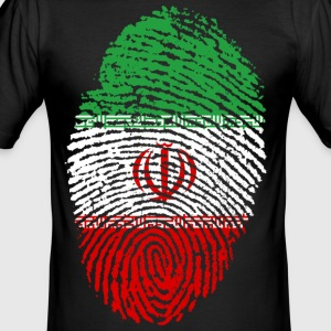 IRAN / ISLAM / PEOPLE - Men's Slim Fit T-Shirt