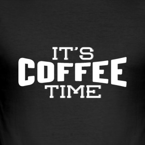 It's coffee time - Men's Slim Fit T-Shirt