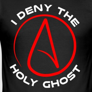 Atheist - I Deny The Holy Ghost - Men's Slim Fit T-Shirt