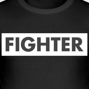Fighter - Slim Fit T-skjorte for menn