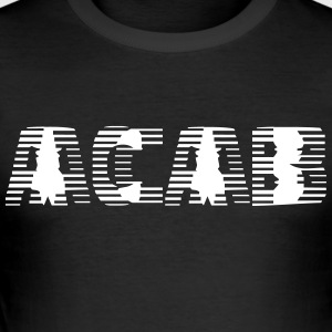 acab - Slim Fit T-skjorte for menn