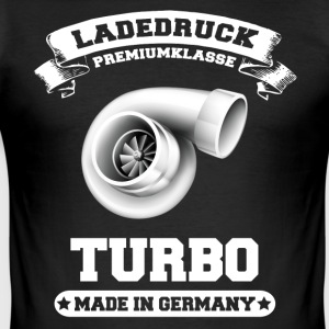 Ladedruck Turbo Made in Germany - Männer Slim Fit T-Shirt