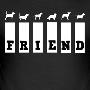 Dog Friend - slim fit T-shirt