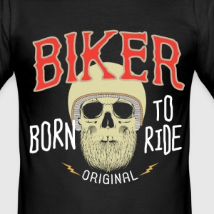 Born to Ride - slim fit T-shirt