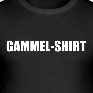 Gammel Shirt - Männer Slim Fit T-Shirt