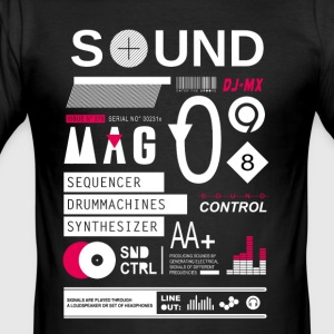 soundcontrol - Männer Slim Fit T-Shirt