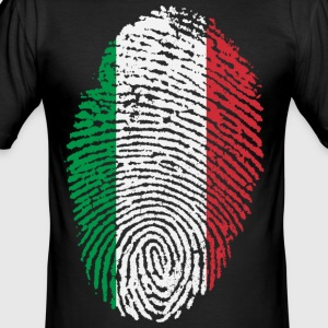 ITALIA 4 EVER COLLECTION - Männer Slim Fit T-Shirt