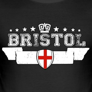 bristol - Slim Fit T-shirt herr