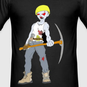 Builder Zombie Collection - Slim Fit T-skjorte for menn