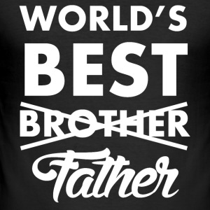 World's Best Father - Männer Slim Fit T-Shirt