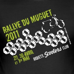 2011 Muguet Rally - Slim Fit T-shirt herr