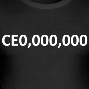 CEO, Ondernemer 000.000 - slim fit T-shirt