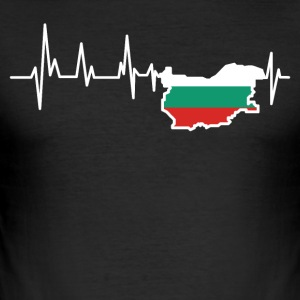Bulgarien - Slim Fit T-shirt herr
