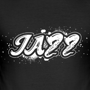 jazz - Slim Fit T-skjorte for menn