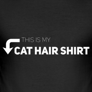 This is my Katzenhaartshirt - Men's Slim Fit T-Shirt