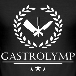Gastrolymp - Männer Slim Fit T-Shirt