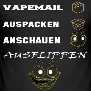 Vapemail - Männer Slim Fit T-Shirt
