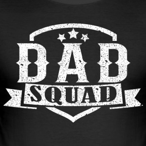 Papa Squad-teamet - Slim Fit T-skjorte for menn