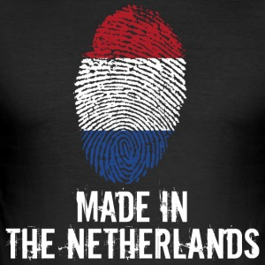 Made In The Netherlands / Niederlande Nederland - Männer Slim Fit T-Shirt