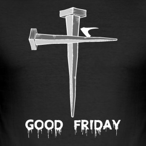Friday - Jesus - Männer Slim Fit T-Shirt