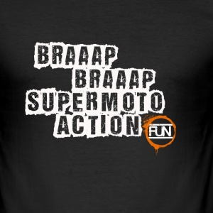 Supermoto Action - Männer Slim Fit T-Shirt
