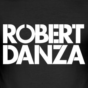 Robert Danza langes T-Shirt - Männer Slim Fit T-Shirt