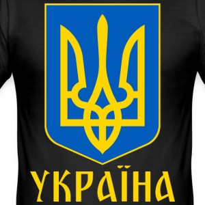 UKRAINA - Slim Fit T-skjorte for menn