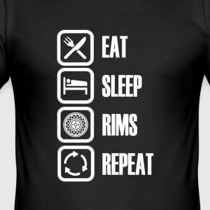 Rims are the hottest - Men's Slim Fit T-Shirt