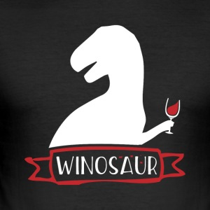 Winosaur - Slim Fit T-shirt herr
