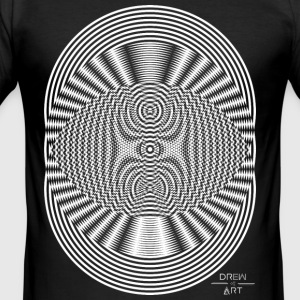 Illusion - Männer Slim Fit T-Shirt