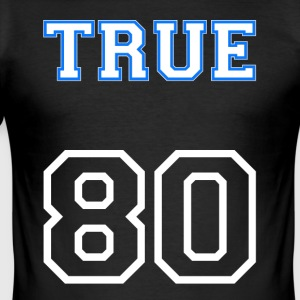 True80's grote - slim fit T-shirt