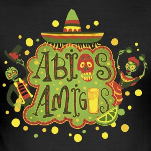 Abios Amigos - Men's Slim Fit T-Shirt