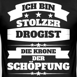 Drogist - Männer Slim Fit T-Shirt