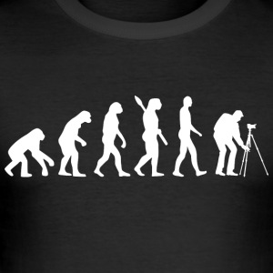 Evolution Fotografering w - Herre Slim Fit T-Shirt