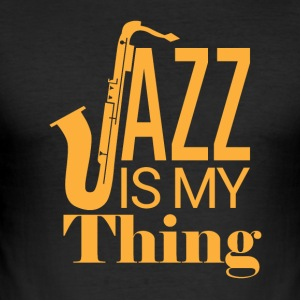 Jazz My Thing - Tee shirt près du corps Homme