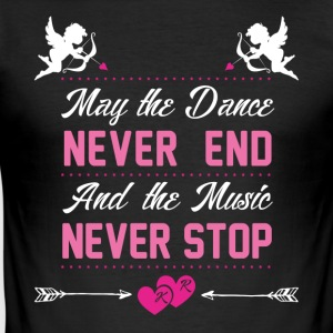 Dance and Music - Men's Slim Fit T-Shirt