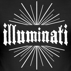 illuminati geheime spreuk koel kraag lol co - slim fit T-shirt