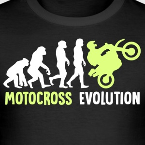 ++Motocross Evolution++ - Männer Slim Fit T-Shirt