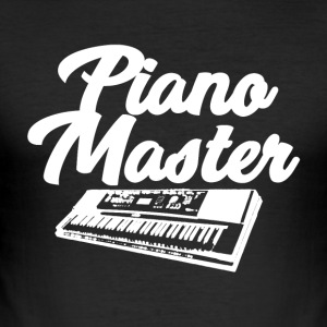 Piano Master - Musik Passion - Herre Slim Fit T-Shirt