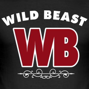 WILDBEAST - toon uw macht - slim fit T-shirt
