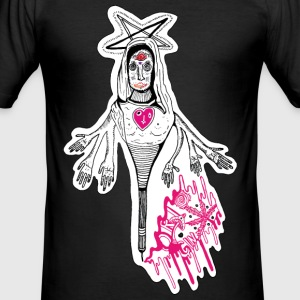 Mary Ghost - Herre Slim Fit T-Shirt