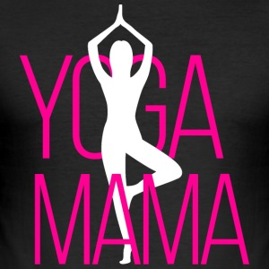 yoga Mama - Slim Fit T-skjorte for menn