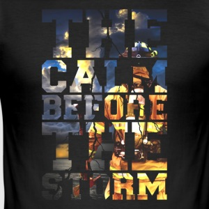 Firemen - The Calm Before The Storm Firefighter - Men's Slim Fit T-Shirt